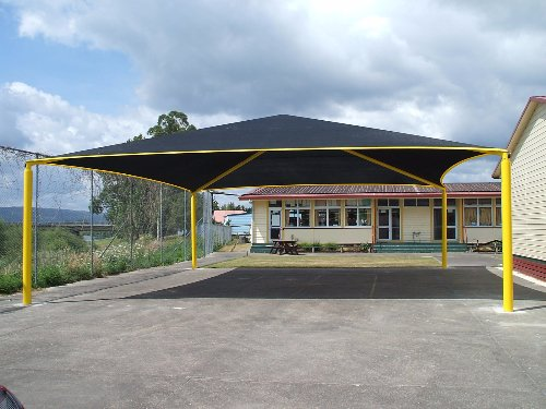 Hip Roof Shade Structures