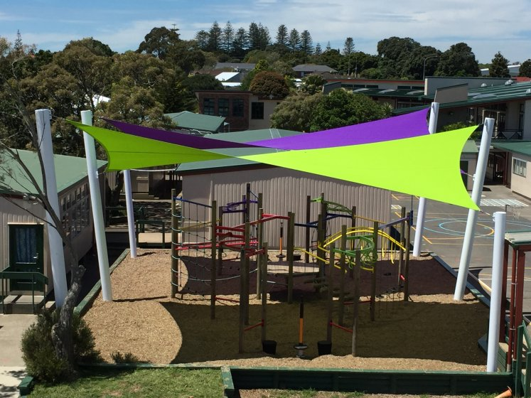 Putaruru School Shade Sail