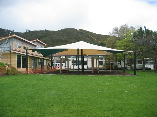 Play Area Shade Sails