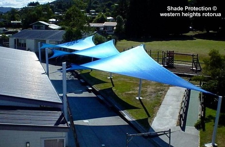 Custom Shade Sail Bay Wave Tauranga City Council